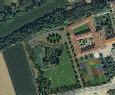 Progetto del Parco Museo - nuova area verde