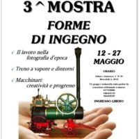 Locandina terza Mostra Associazione Ingenium