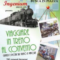 Viaggia sul treno a vapore in miniatura il 14 e 15 settembre a Busca!