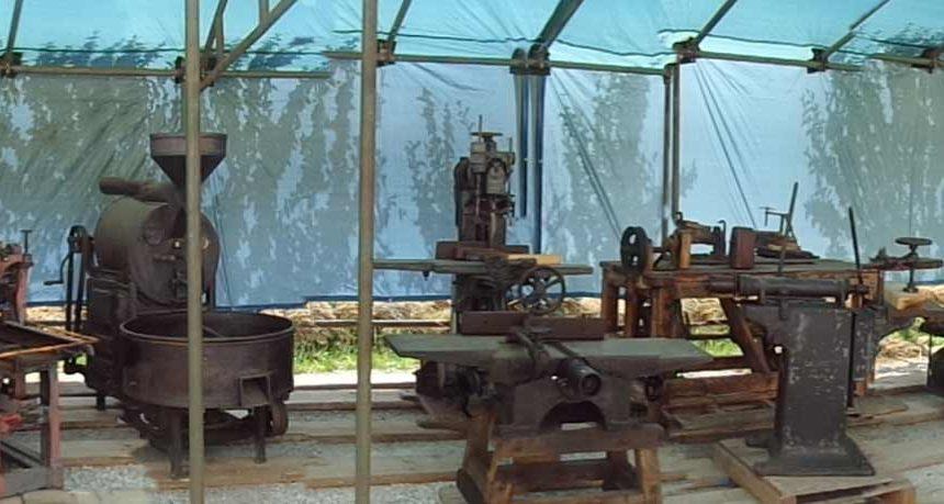 Alcuni macchinari recuperati da Ingenium a Busca