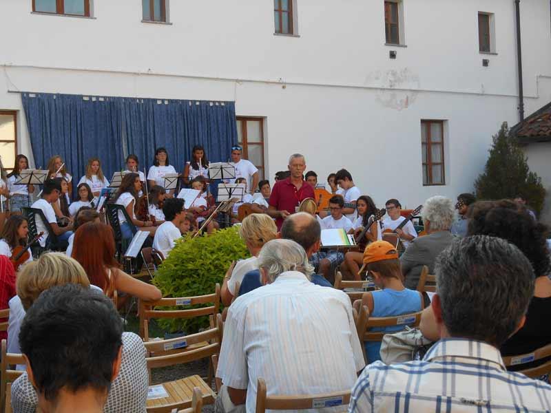 Concerto nel chiostro dell'ex Convento