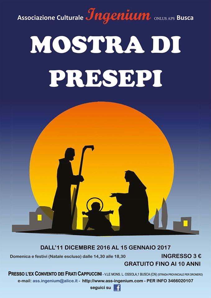 Mostra Presepi 2016-2017 Ingenium Busca
