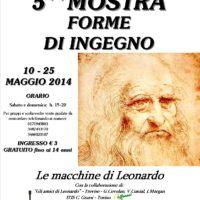 Locandina Forme di Ingegno 2014 - Leonardo